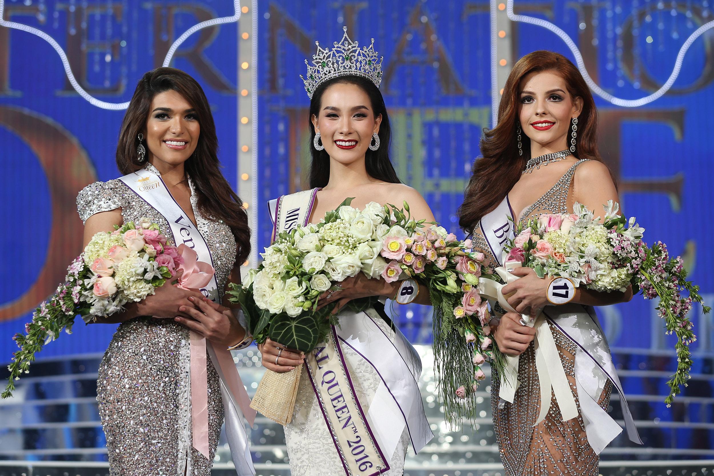 Miss International Queen มิสอินเตอร์เนชั่นแนลควีน สาวประเภทสอง โม จิรัชยา