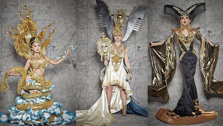Miss International Queen ชุดประจำชาติ สาวประเภทสอง โม จิรัชยา