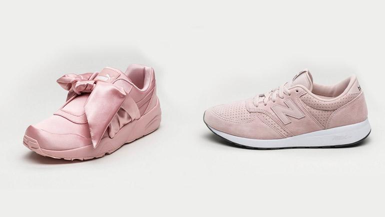 puma shoes รองเท้า รองเท้าสีชมพู สีชมพู สีพาสเทล