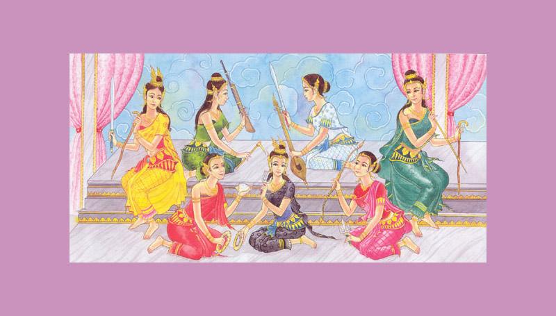 นางสงกรานต์ ประวัติ ประเพณีไทย วันสงกรานต์ วันสำคัญ