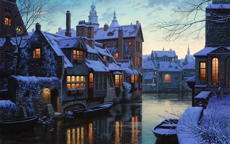 บรูช (Bruges), ประเทศเบลเยียม (Belgium)