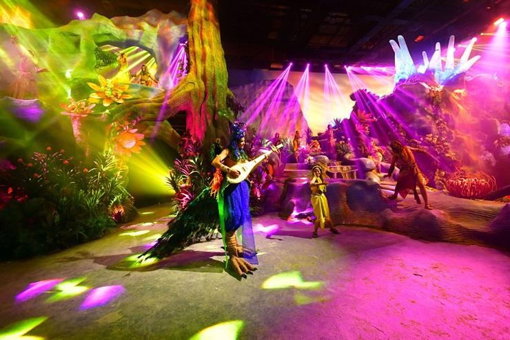 Himmapan Avatar show DC พระราม9 พระราม9หิมพานต์ อวตาร หิมพานต์ อวตาร ไลฟ์โชว์