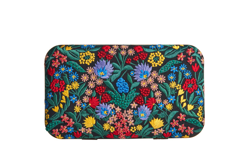 Alice And Olivia, Chelsea Wildflower Shirley Clutch