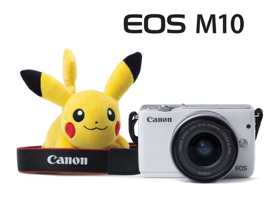 Canon กล้องแคนนอน ปิกาจู