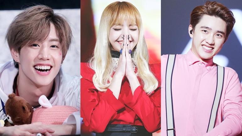 รอยยิ้มมีเสน่ห์ เกาหลี ไอดอลเกาหลี