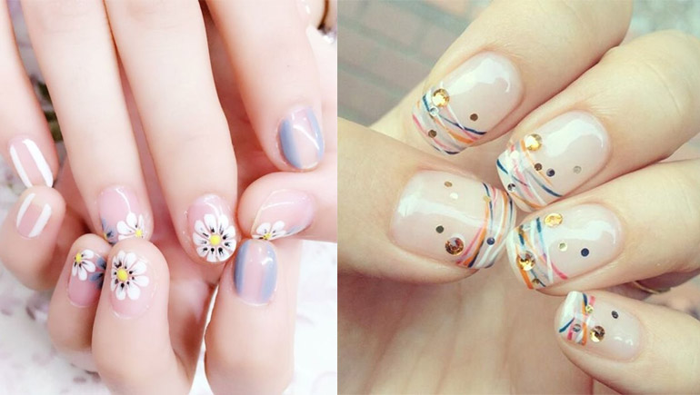 Nail_ideas nails ทาเล็บ ลายเล็บ เพ้นท์เล็บ เล็บ เล็บสั้น
