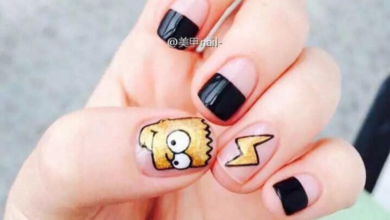 Nail_ideas nails ทาเล็บ ลายเล็บ เล็บ