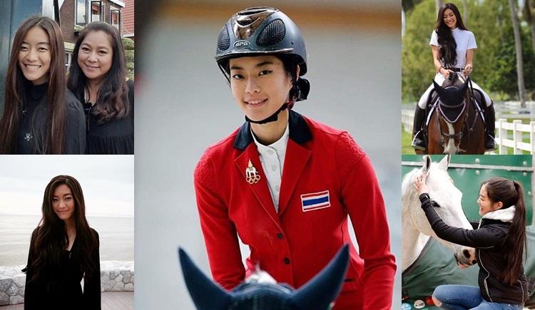 น้องสายลับ นักกีฬาขี่ม้า นักกีฬาหน้าตาดี ลูกดารา ลูกสาวส้มโอ เพ็ญพิสุทธิ์