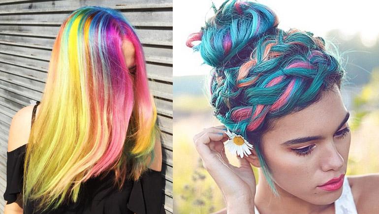 hair Unicorn สีผม