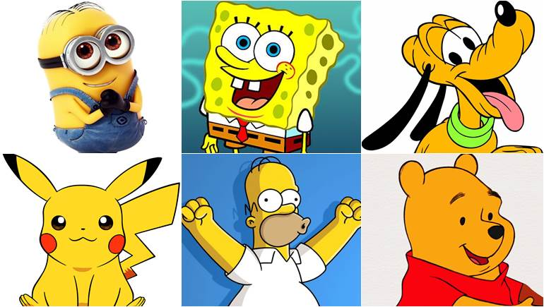 Spongebob ดิสนีย์ ตัวการ์ตูน