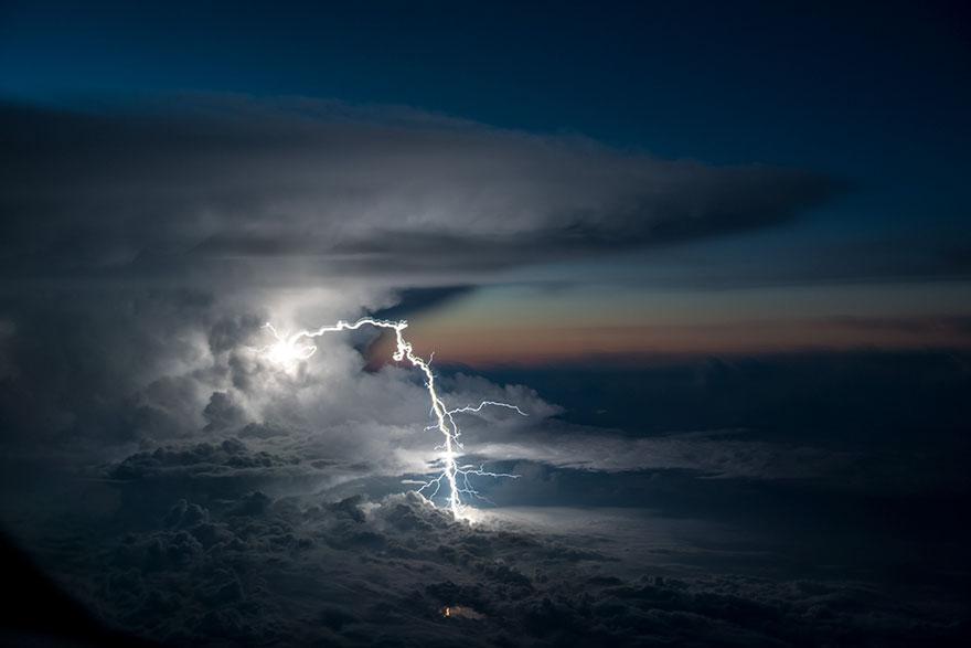 ท้องฟ้า ท้องฟ้าสวย นักบิน ปรากฏการณ์ธรรมชาติ ภาพถ่าย