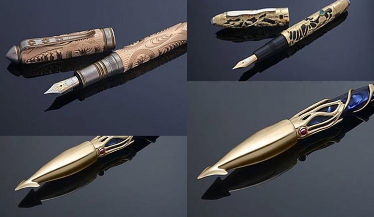 ปากกา ปากกาแพงที่สุดในโลก