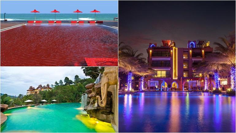 ประเทศไทย รีสอร์ท สระว่ายน้ำ โรงแรม