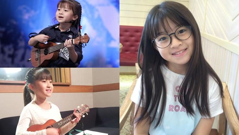 Thailand's Got Talent น้องเกล หนูน้อยอูคูเลเล่ น้องเกล โสพิชา นักร้อง