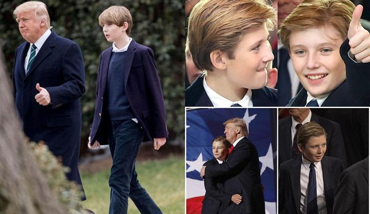 Barron Trump Donald Trump ลูกชายคนเล็ก โดนัลด์ ทรัมป์