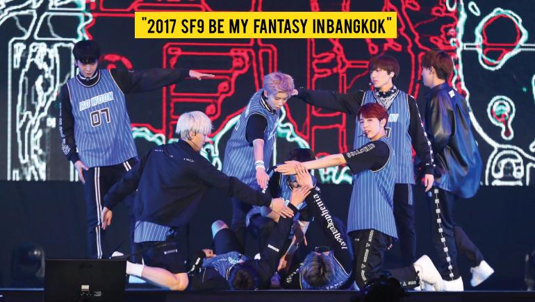 Fan meeting Fantasy FNC Entertainment SF9 SF9FanMeetinginBKK