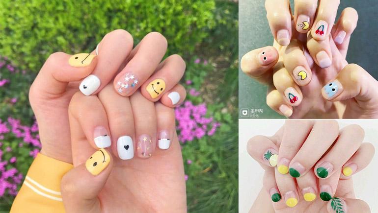 Nail Ideas nails ทาเล็บ