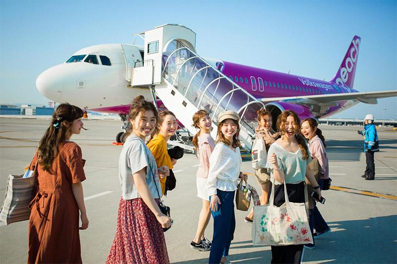 สายการบิน สายการบินพีช เครื่องบิน