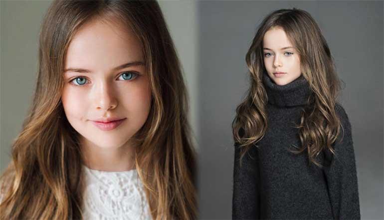 Kristina Pimenova Vogue Bambini Women Daily คริสติน่า ปิเมโนว่า นางแบบเด็ก ประเทศรัสเซีย