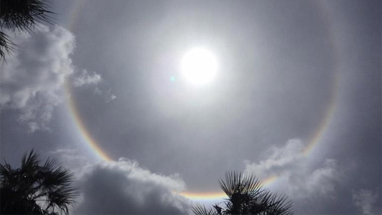 ความเชื่อต่างๆ จักรวาล ท้องฟ้า พระอาทิตย์ พระอาทิตย์ทรงกลด
