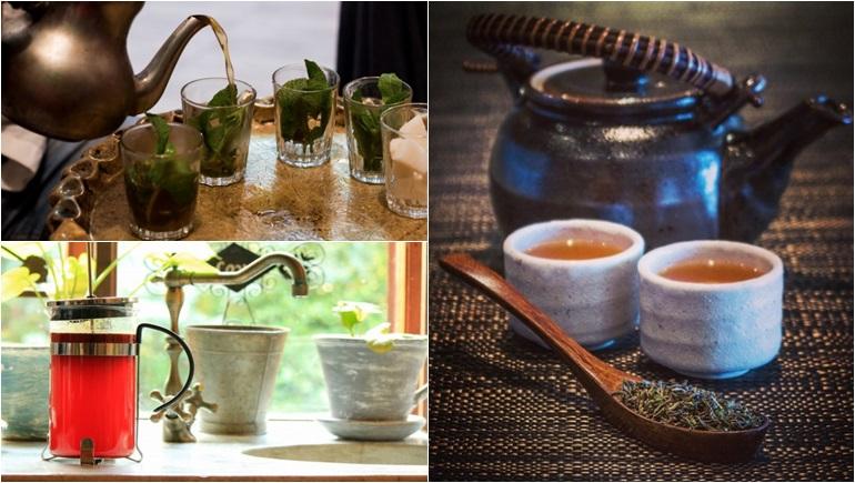 ชา นานาประเทศ น้ำชา