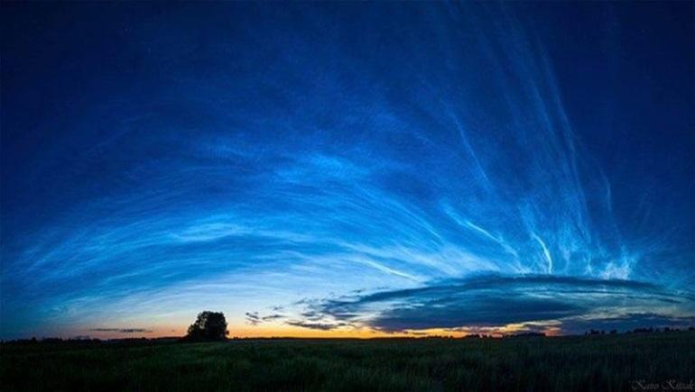 ธรรมชาติ เมฆเรืองแสง