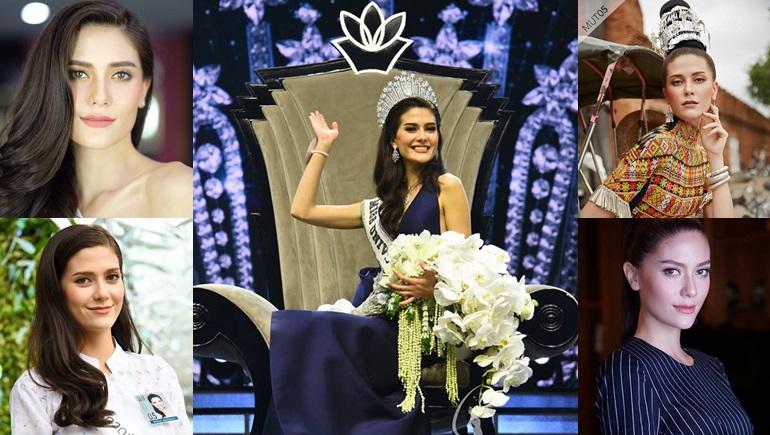 Miss Universe Miss Universe Thailand 2017 นางแบบ มารีญา พูลเลิศลาภ มิสยูนิเวิร์ส ไทยแลนด์ มิสยูนิเวิร์ส ไทยแลนด์ 2017 สาวสวย