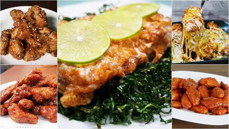 ทำอาหาร วิธีทำอาหาร เมนูไก่ ไก่ราดซอส