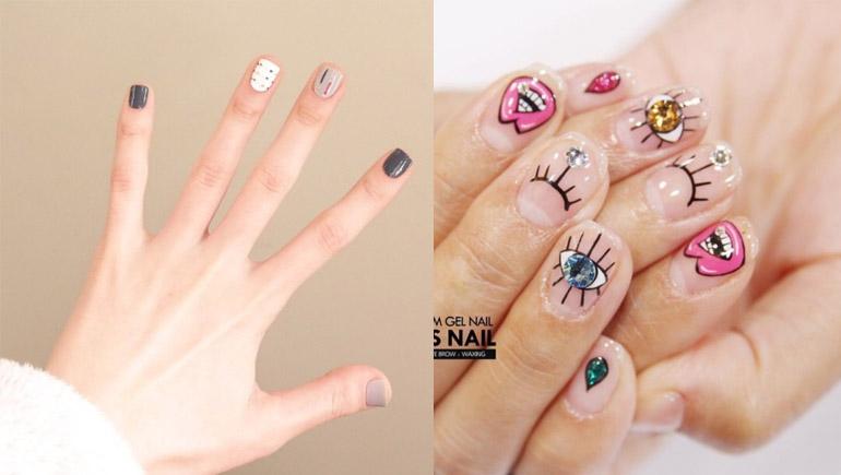 nails ทาเล็บ สีเล็บ