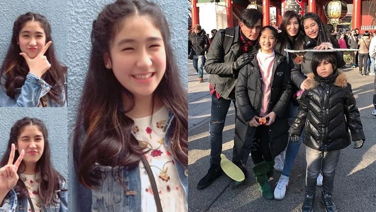cute girl พีท ทองเจือ ลูกดารา เซย่า