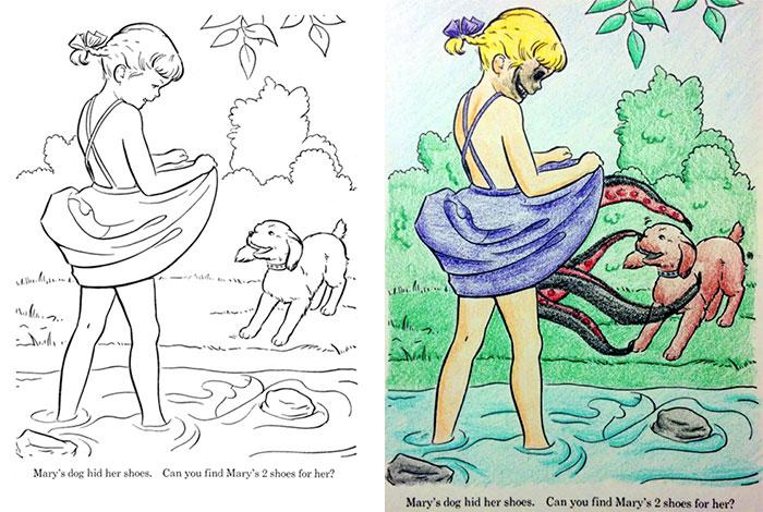 20 ภาพความฮา เมื่อผู้ใหญ่เปลี่ยนภาพวาดของเด็กให้กลาย...