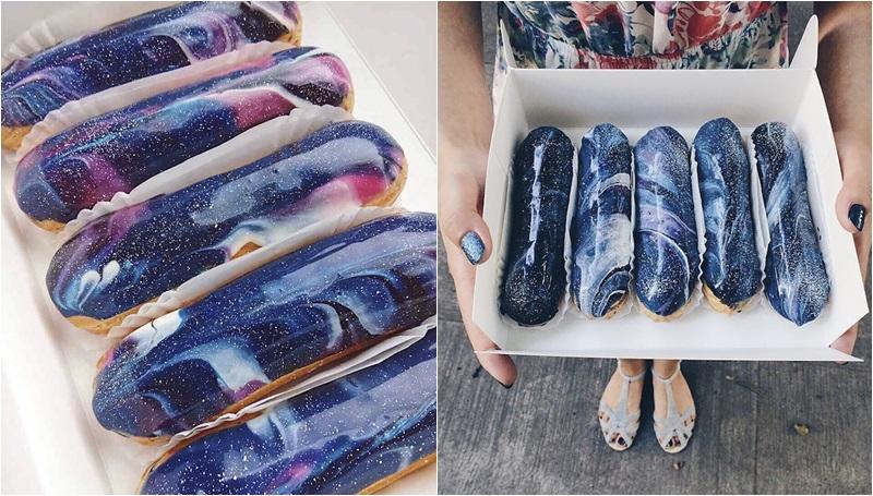 กาแล็คซี่ ขนม ประเทศยูเครน เอแคลร์
