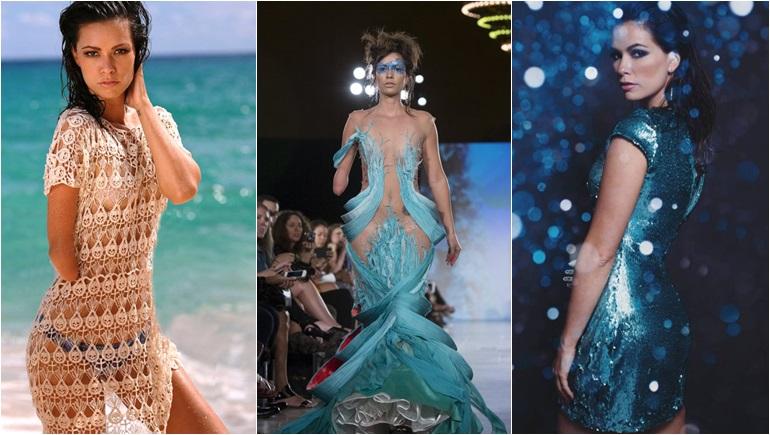 New York Fashion Week Shaholly Ayers นางแบบ นางแบบนิวยอร์ก