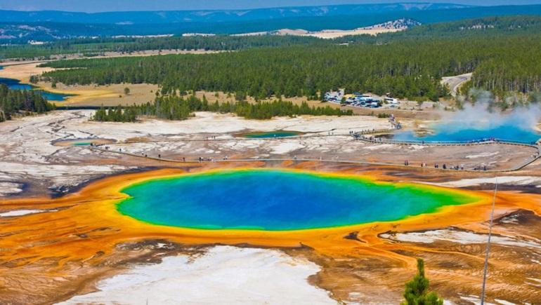 Yellowstone National Park สถานที่เที่ยวรอบโลก เยลโลว์สโตน