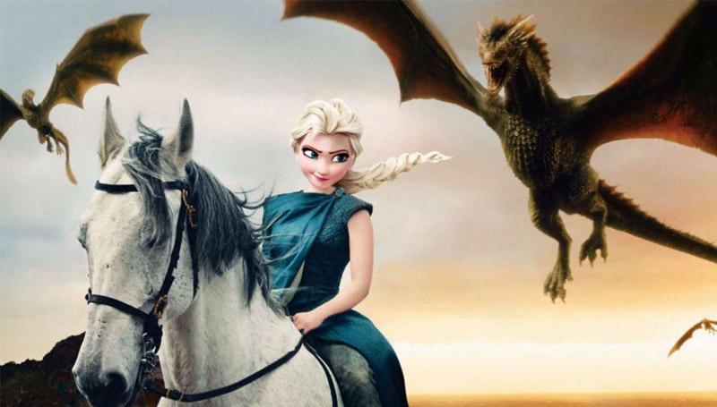 disney Game Of Thrones GOT การ์ตูนดิสนีย์ มหาศึกชิงบัลลังก์ หนัง เกม ออฟ ทรอนส์ เกมส์ ออฟ ทรอนส์