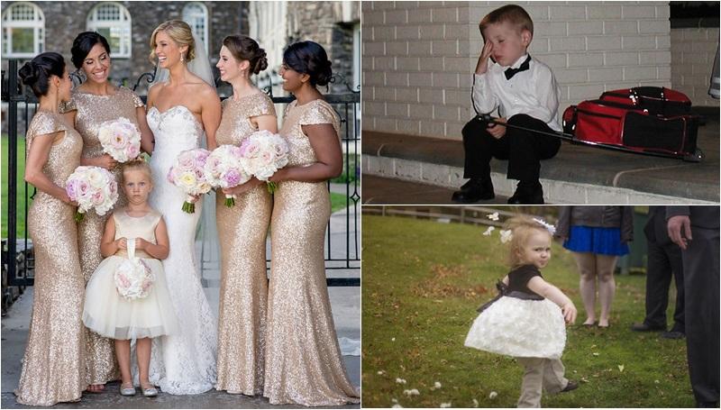 งานแต่งงาน เด็กน้อย