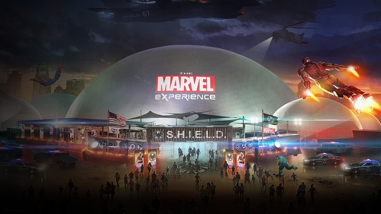 marvel Marvel Experience Thailand Theme Entertainment Attraction กัปตันอเมริกา สวนสนุกค่าย Marvel ไอร่อนแมน