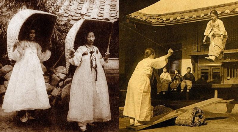 ประวัติศาสตร์ ภาพเก่า ภาพในอดีต เกาหลี