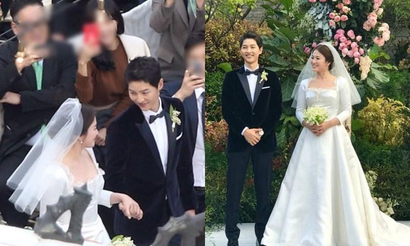 งานแต่งงาน ซงจุงกิ ซงเฮเคียว ดาราเกาหลี ภาพงานวิวาห์ เกาหลี