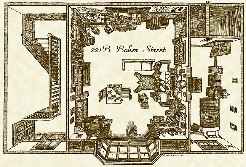 บ้านเลขที่ 221 บี ถนนเบเกอร์