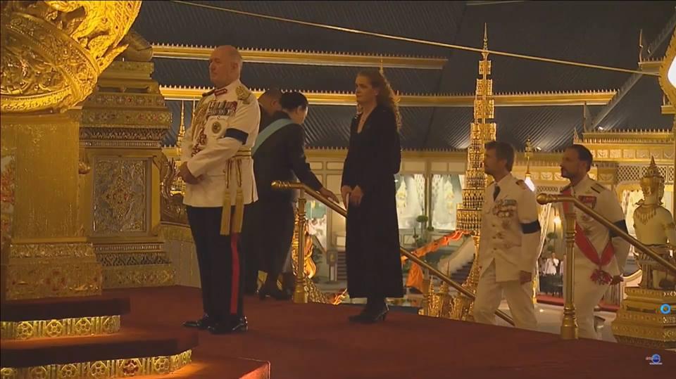 จูลีย์ พาแย็ตต์ ประเทศแคนาดา ผู้สำเร็จราชการแทนพระองค์ฯ แห่งแคนาดา พระบรมวงศานุวงศ์ พระราชพิธีถวายพระเพลิง ร.9