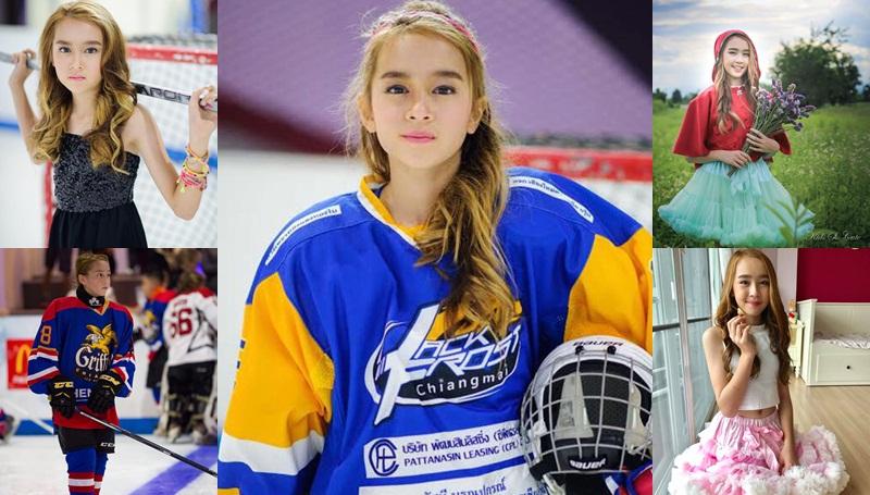 นักกีฬา นักไอซ์ฮอกกี้ นางแบบเด็ก เด็กเก่ง เฮเลน แบล็คเวลล์