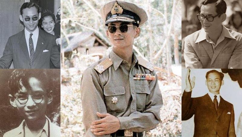 พระบรมฉายาลักษณ์ ภาพวันวาน ภาพในอดีต รอยยิ้มของพ่อ ในหลวงรัชกาลที่ 9