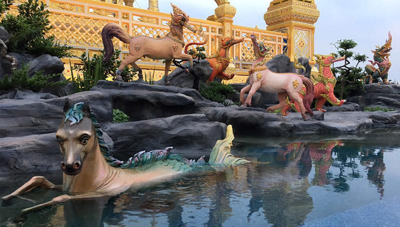 ความเชื่อต่างๆ ป่าหิมพานต์ พระเมรุมาศ พิธีถวายพระเพลิง ร.9 สัตว์หิมพานต์ สัตว์ในตำนาน