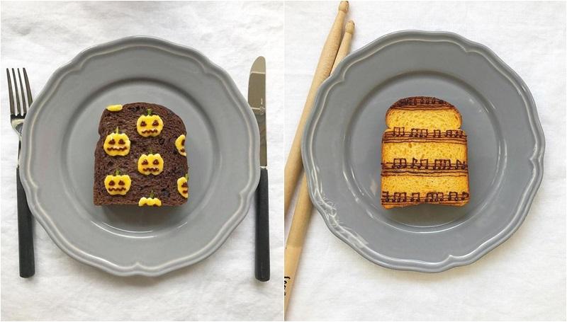 ศิลปิน อาหาร อาหารเช้า