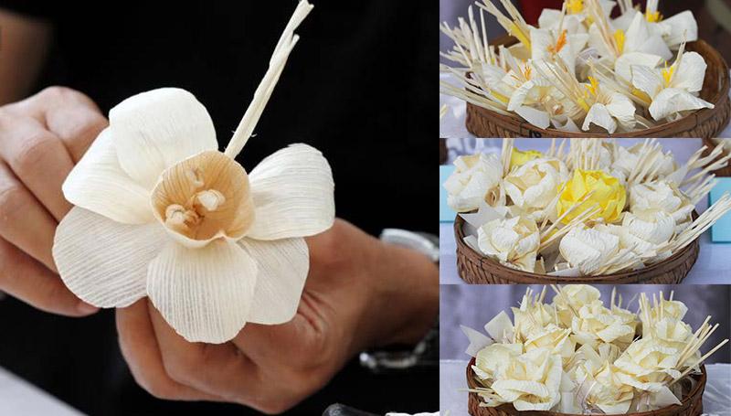 ดอกไม้จันทน์ พิธีถวายพระเพลิง ร.9