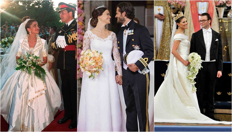 งดงาม ชุดแต่งงาน ราชวงศ์