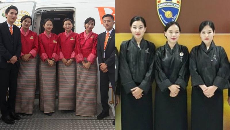 สายการบินภูฏาน ในหลวงรัชกาลที่ 9