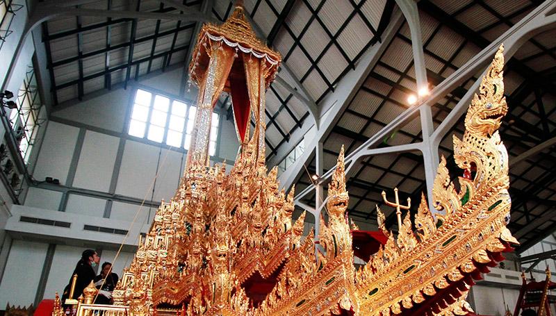 พระบรมศพ พระมหาพิชัยราชรถ พิธีถวายพระเพลิง ร.9 ริ้วขบวน โบราณราชประเพณี