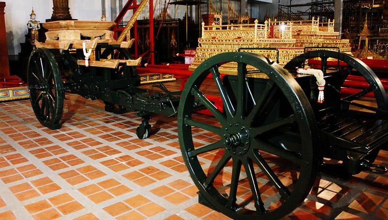 ปืนใหญ่ พระบรมศพ พิธีถวายพระเพลิง ร.9 ราชรถ ริ้วขบวน